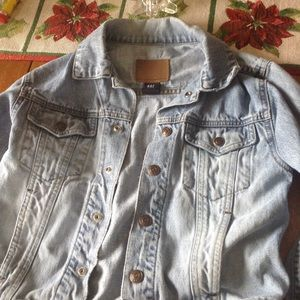 Gap Kids Blue Jean Jacket 5-6